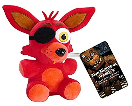 Amazon.com: Funko Five Nights at Freddys Foxy Plush, 6 ...