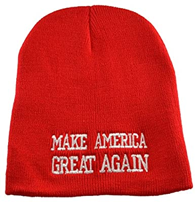 Donald Trump Make America Great Again Red Beanie