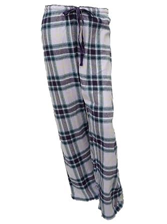 368ba44e541f Soft Sensations Womens Lilac Purple Plaid Sleep Pant Flannel Pajama ...