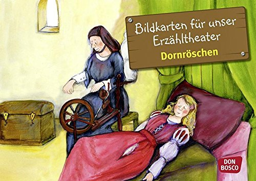 Kamishibai Bildkartenset Dornröschen - Bildkarten für unser Erzähltheater (Märchen für unser Erzähltheater)