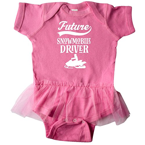 inktastic Future Snowmobile Infant Tutu Bodysuit 6 Months Raspberry 2e4e1