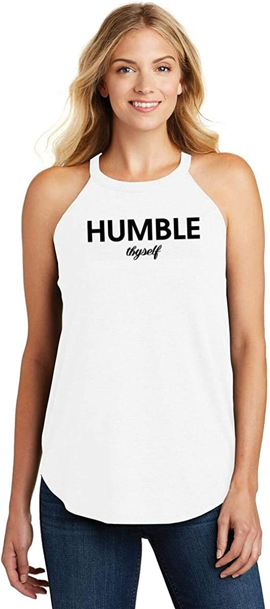 Comical Shirt Ladies Humble Thyself Rocker