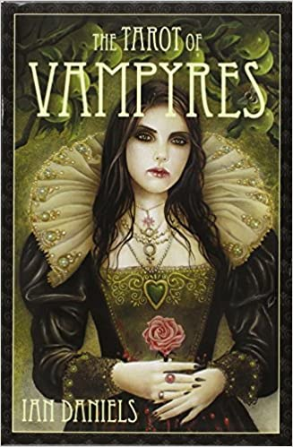 TAROT OF VAMPYRES KIT Boxed Fairy Deck Card /& Book Set vampire oracle cards