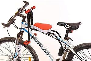 WYYZSS Silla Delantera Bebé Niños para Bicicleta, Asiento ...