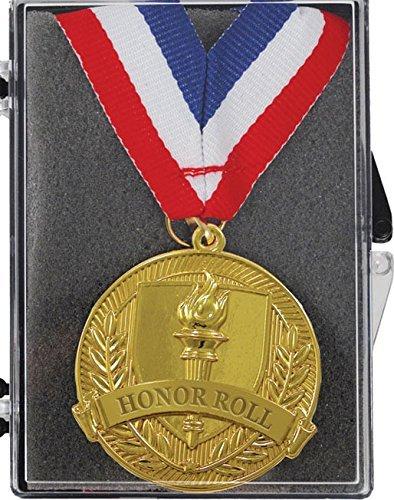 2 ShiningゴールドHonor Roll Medals inボックス B074HFJ9PM