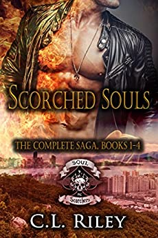 Scorched Souls: The Complete Saga: Books 1-4 by [Riley, C.L.]