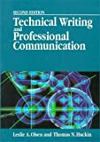 Technical Writing and Professional Communication, Olsen, Leslie A. and Huckin, Thomas, 0070478236