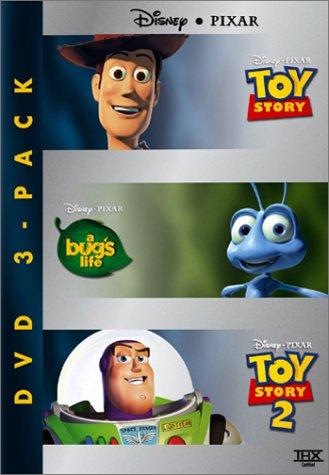 Disney Pixar DVD Three-Pack (Toy Story/A Bug's Life/Toy Story 2) ()