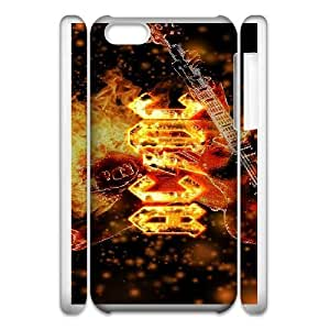 iphone6 Plus 5.5 3D Cell Phone Case White ACDC Plastic Durable Cover Cases derf6995939