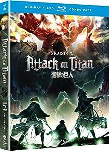 Attack on Titan: Season Two (Blu-ray/DVD Combo)