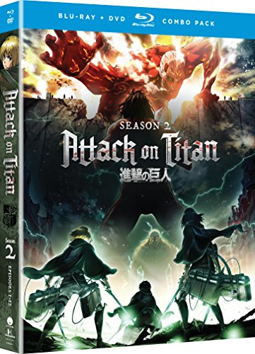 Blu-ray : Attack On Titan: Season Two (With DVD, Boxed Set, 4 Disc)