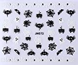 Halloween Spider Spiderweb Nail Art Sticker Decal