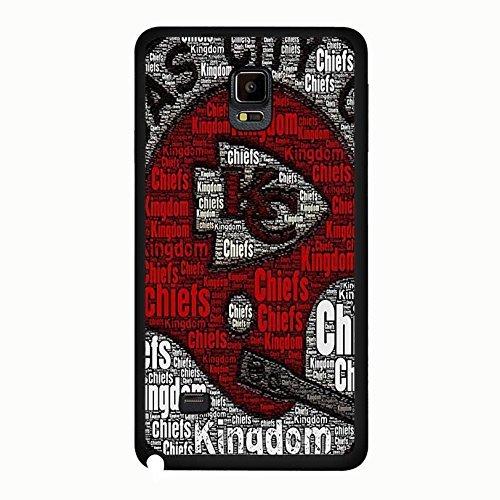 Eigenes beliebtes Design NFL Kansas City Chiefs Telefon Schutzhülle Für Samsung Galaxy Note 4