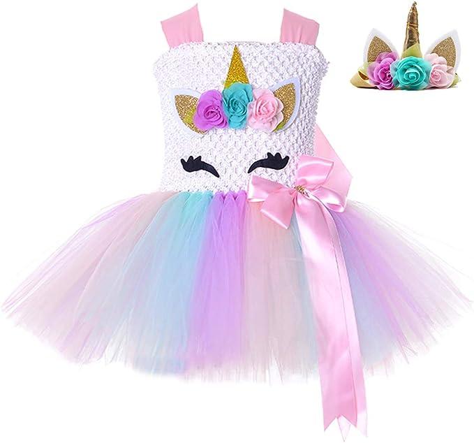 Amazon.com: Disfraz de unicornio de fiesta de cumpleaños ...