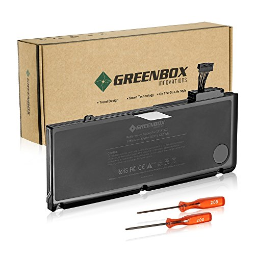 greenbox new laptop replacement battery for a1278 a1322. Black Bedroom Furniture Sets. Home Design Ideas
