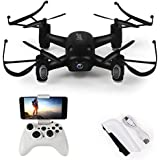 DAZHONG LIDI RC L8HW 6-Axis Gyro WIFI Real-time RC Quadcopter,FPV Quadcopter Drone Speed Switch Air Press Altitude BK with 2.0MP HD Camera Headless Mode and One Key Return Function