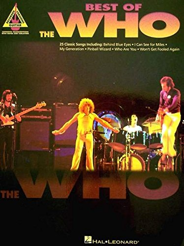 (Best of The Who: Guitar Recorded Versions)