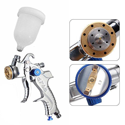 Air Spray Gun HVLP Kit 2.0mm Nozzle Set Paint Touch Up Gravity Feed Atomization by TFCFL (Image #4)