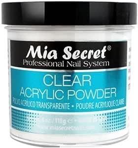 Professional Acrylic Nail System Clear Acrylic Powder 120ml