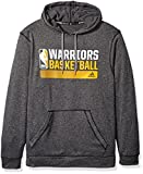 NBA Golden State Warriors Icon Status Climawarm Ultimate Hoodie, Large, Black