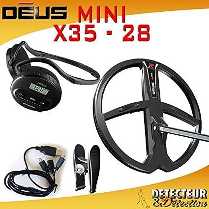 Detector de metales XP DEUS MINI 28 V3,2 nuevo