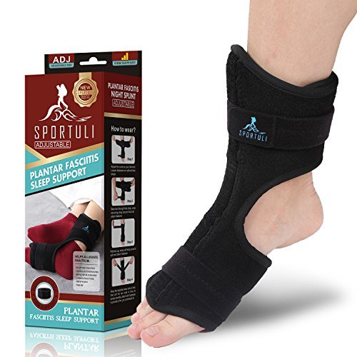 e57b6f1f20 sportuli Plantar Fasciitis Night Splint for Heel Pain Relief - Import It All