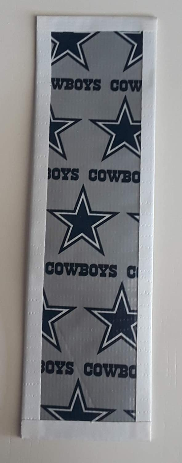 Dallas Cowboys NFL football Duct Tape Book Mark
