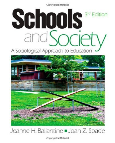 Schools and Society: Sociological Approach to Education 3RD EDITION pdf