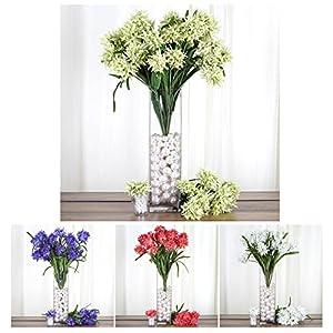 Efavormart 36 Artificial Agapanthus Flowers for Wedding Arrangements Centerpiece - 4 Bushes 19