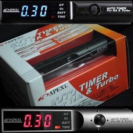 Universal APEXI Auto Turbo Timer NA & Turbo Digital LED Display Blue / Red JDM