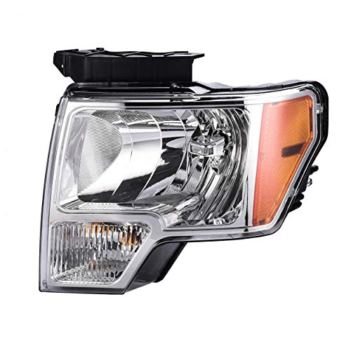 Driver Side Headlamp Assembly Composite - Fits 2009-2014 Ford F-150 - Parts Link #: FO2502287