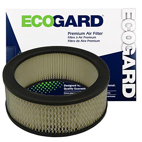 ECOGARD XA57 Premium Engine Air Filter Fits Ford F-150, F-100, E-150 Econoline, F-350, Bronco, F-250 / Mercury Cougar / Ford E-150 Econoline Club Wagon, E-100 Econoline, E-250 Econoline, Falcon ()