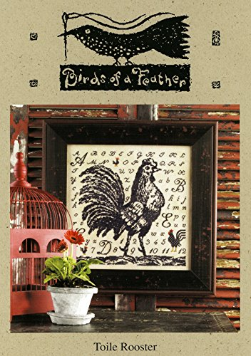 Toile Rooster (Cross Stitch Patter by Birds of a Feather)