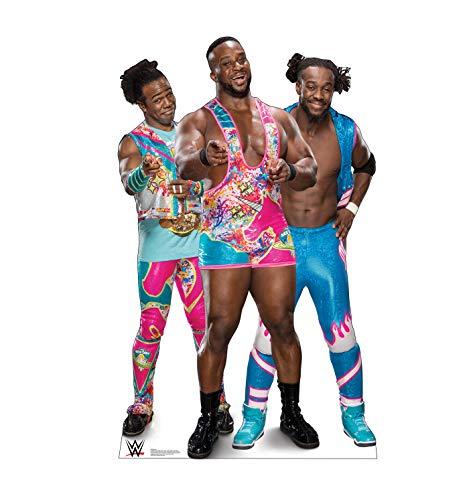 Advanced Graphics New Day - Big E, Kofi and Xavier - Life Size Cardboard Cutout Standup - WWE