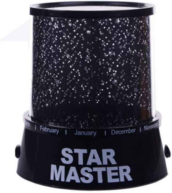 GSusan Star Projecteur de Nuit Romantique LED Starry Night Sky Projecteur Lampe Star Light nouveaut/é Lampe USB pour la f/ête /à la Maison Cadeaux danniversaire de No/ël Bleu