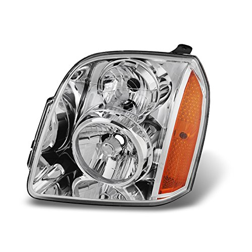 For 2007-2013 GMC Yukon | XL | Hybrid LH Driver Left Side Clear Headlight Headlamp Assembly Replacement