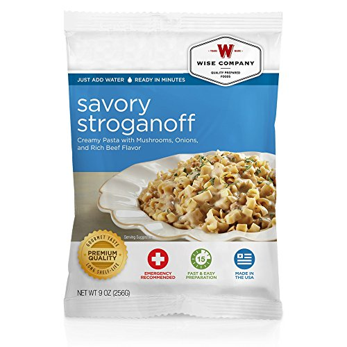 Wise Foods Entree Dish Savory Stroganoff (4 Servings) by Wise Company
