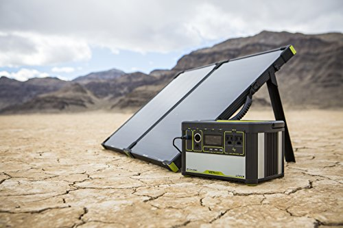 Goal Zero Yeti 400 Lithium Solar Generator Kit with Boulder 100 Briefcase Solar Panel