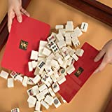 Mahjong Tile Mixer Shuffler - Red (Set of 2)