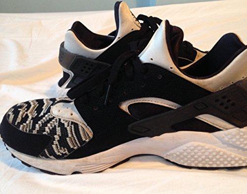 Nike para hombre Air Huarache Negro Gris entrenamiento 318429010