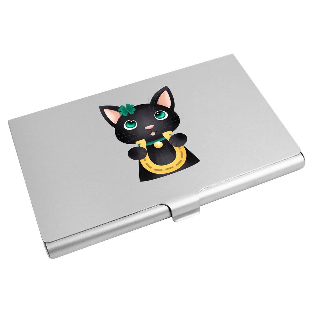 Azeeda 'Lucky Cat' Business Card Holder / Credit Card Wallet (CH00016192)