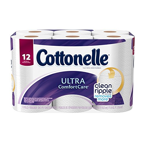 Cottonelle Ultra Comfort Care Toilet Paper, Big Roll, 12 Cou