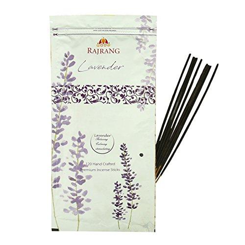 RAJRANG Incense Lavender Aroma Freshener - Serene and Natural Fascinating Fragrances Pack of 120 Sticks