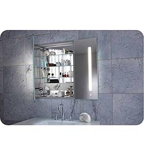 Merveilleux Robern AC3630D4P2L AiO Lighted Medicine Cabinet