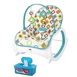 Fisher Price Infant-to-Toddler Rocker, Geo Diamonds Plus...