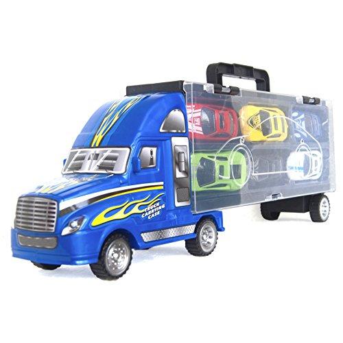 Blue Metal Car - 14
