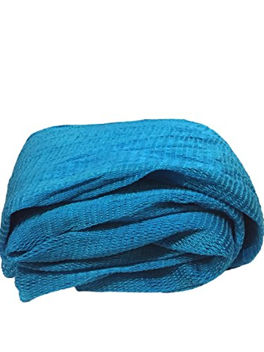 Nature by EJN Net Sponge - Soft Bath Sponge, Porous (Full Roll, New Year Edition - Sea Blue) by Nature by EJN