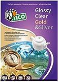 Tico GL4-210297 Etichette Satinate, 210 x 297, Dorato