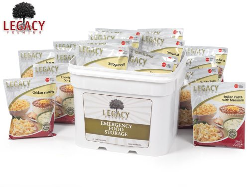 Emergency Home Food Storage Supply: 4320 Large Meal Servings - 1107 Lbs - Disaster Prepper Survival - 25 Year Shelf Life - Freeze Dried / Dehydrated - Just Add Water