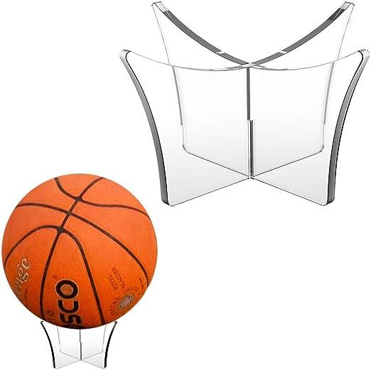 Basketball Football Baseball Rugby Soccer Ball Base Stand Display Rack Holder